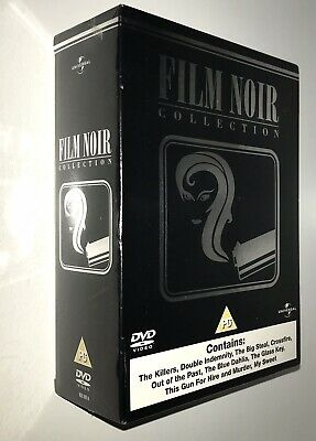 🆕 Sealed DVD Boxset FILM NOIR COLLECTION Black Box 9 Movies CLASSICS 1940s • 44.95£