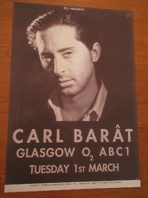 £7.99 • Buy Carl Barat Concert/gig Poster (the Libertines) Glasgow. O2 Abc1 1st March.2011