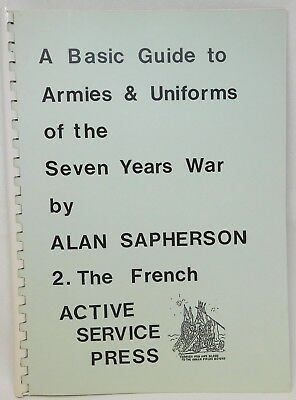Basic Guide To ARMIES And UNIFORMS Of 7YW Vol 2 THE FRENCH 46821 • 11.99£