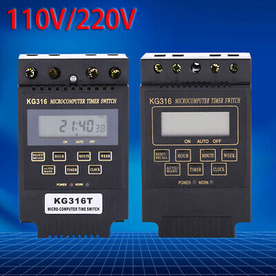 Controller Power Outlet Kg316t Automatic Timing Timer Switch Electrical • 9.36£