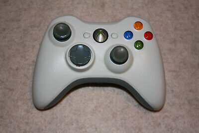 AU39.99 • Buy Genuine, Official Microsoft Xbox 360 Wireless Controller (White)