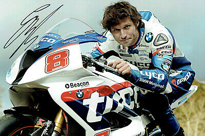 Guy Martin Signed 12 X 8 - TT 2015 Promotional Picture & We Can Show You Proof • 25£