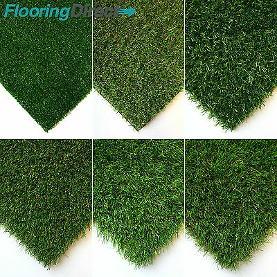 £0.99 • Buy Artificial Grass CLEARANCE Turf  Fake Lawn Realistic Natural Green Garden