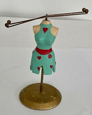 Jewellery Mannequin Stand Holder Hanger Display Rings Decorative Lady  • 6.50£