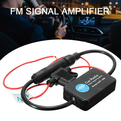 Universal Automobile Car FM/AM Radio Stereo Antenna Signal Amplifier Booster  • 6.09£