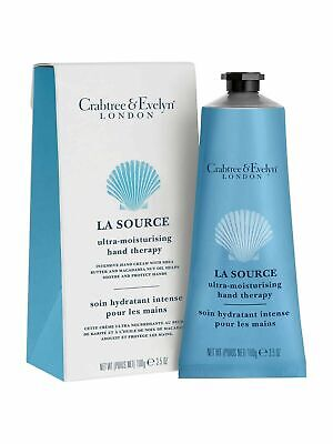 Crabtree & Evelyn  La Source Hand Therapy Hand Cream 100g New & Boxed • 16.95£