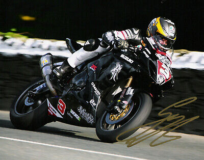 Guy Martin Signed 2011 Isle Of Man TT 10 X 8 Picture & We Can Show You Proof • 25£