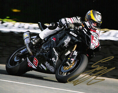 £25 • Buy Guy Martin Signed 2011 Isle Of Man TT 10 X 8 Picture & We Can Show You Proof