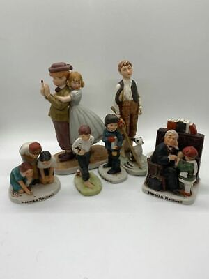 $ CDN65.44 • Buy Collection Of Norman Rockwell Figurines – Dave Grossman Designs – Lot Of 6