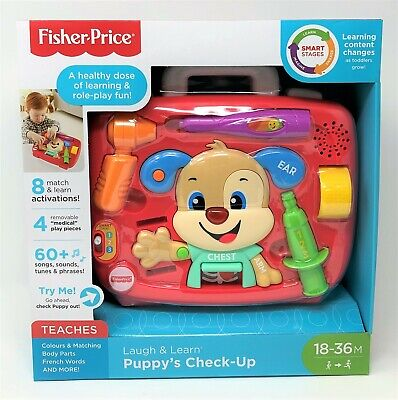 £16.99 • Buy Fisher-Price Puppy Medical Check-Up Laugh & Learn Light Sound And Phrases Toy