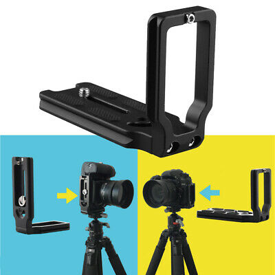 AU14.04 • Buy Universal L-Bracket Quick Release Plate Fits For DSLR Camera Arca Swiss Tripod