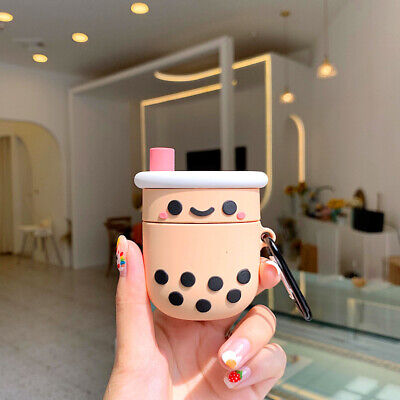 AU13.58 • Buy Protective Skin Cute Pearl Milk Tea Case Shell Cover For Apple Airpods Pro 1/2