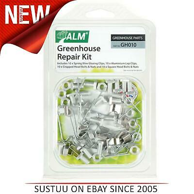 £9.05 • Buy ALM GH010 Green House Service / Repair Kit Spring Wire Glazing Clips