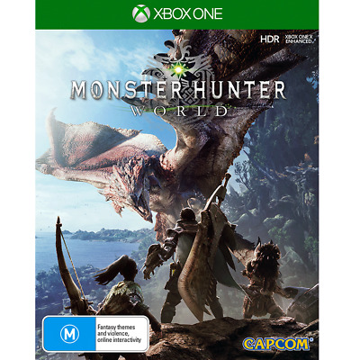 AU21 • Buy Monster Hunter World Preowned - Xbox One - PREOWNED