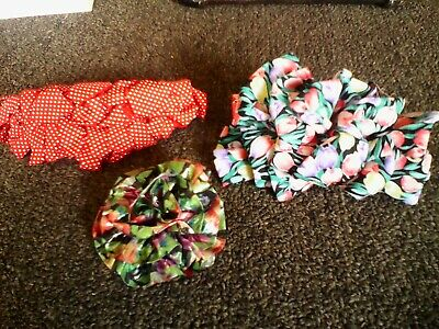 $2.95 • Buy Women's Hair Accessories - Lot Of 3 Hair Clips - Red Polka Dot, 2 ) Multi-floral