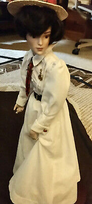 $12.50 • Buy Norman Rockwell (Croquet) Porcelain Doll