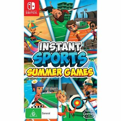 AU49.95 • Buy INSTANT Sports: Summer Games - Nintendo Switch - BRAND NEW
