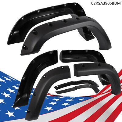 $82.46 • Buy Black Fender Flares Fit For Jeep Cherokee XJ(4DR) Sport Utility 84-01 -Textured