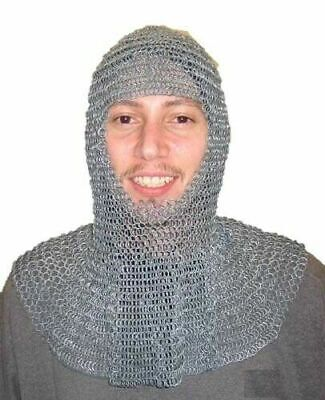 $45.19 • Buy New Chainmail Armor Costume 9 Mm Butted 16 SWG High Tensile QC