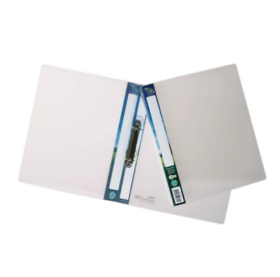 £32.95 • Buy Snopake Bio2 A4 Ring Binder 25mm Clear (Pack Of 10) Free Next Working Day Del