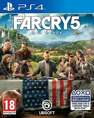 AU36.35 • Buy Far Cry 5 PS4 Brand New Factory Sealed