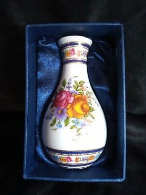 The Regal Bone China Collection TM Small Boxed Vase Flower Design UK Sell Only • 6£