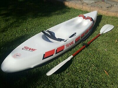 AU395 • Buy Shane Thermo Petrie Design Wave Ski 2.5m Surboard Kayak - Adelaide Pickup