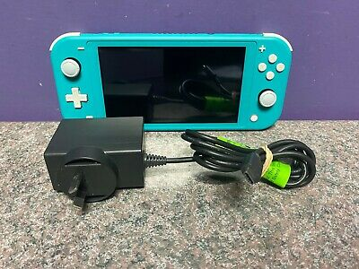 AU153.50 • Buy Nintendo Switch Lite Aqua Console Working
