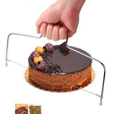 £2.75 • Buy New Cake Cutter Slicer Line Bread Wire Cutting Levelled Decorator Baking Tool
