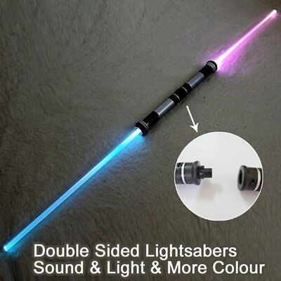 Star Wars Lightsaber 2 Sword Sound And Light Double Bladed Ultra Saber Toy NEW • 21.99£