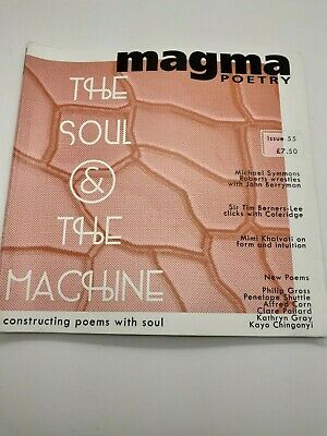 Magma Poetry Magazine #55 - The Soul & The Machine - BRAND NEW • 4.99£