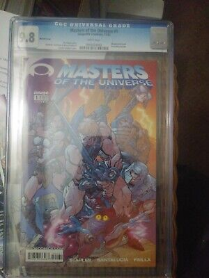 $175 • Buy Masters Of The Universe 1 Variant CGC 9.8 1st Invincible Preview