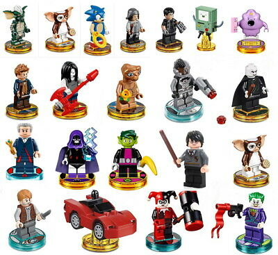 AU19 • Buy LEGO Dimensions Minifigures Miniatures Lego Figures Collection XBOX PS WII U