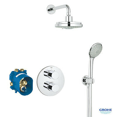 Grohtherm 3000 Cosmopolitan Perfect Shower Set With Rainshower 160 34399000 • 399.95£