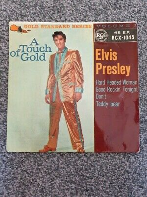 Elvis Presley A Touch Of Gold EP 7  Vinyl 1959 RCA Records RCX-1045 • 30£