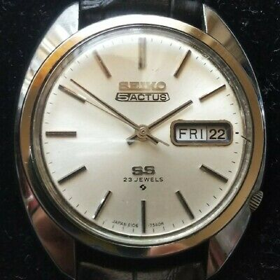 $ CDN265.08 • Buy Vintage Seiko 5 Actus SS 6106-7003 Automatic 23Jewels Good Accuracy