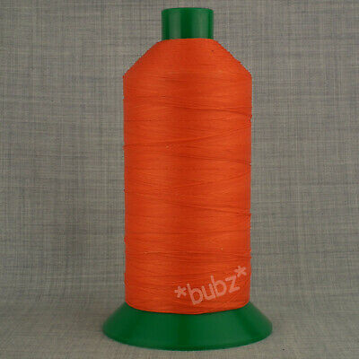 £9.95 • Buy STRONG BONDED NYLON SEWING THREAD 20s 2,500m LEATHER CRAFT REPAIR 20 TKT ORANGE