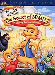 The Secret Of NIMH 2: Timmy To The Rescue (DVD, 2001, Movie Time) • 4.01£