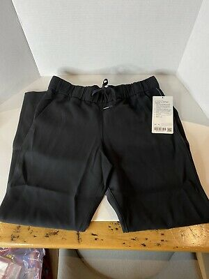 $ CDN80 • Buy NEW With Tags! Lululemon On The Fly 7/8 Pant Woven Black Size 6