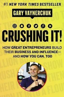 AU41.50 • Buy NEW Crushing It! By Gary Vaynerchuk Hardcover Free Shipping
