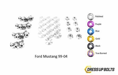 $164.99 • Buy Dress Up Bolts Mustang GT 1999-04 Cobra 03-04 Titanium Engine Bay Kit Polished