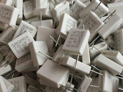 $1.95 • Buy 10pcs BPR56 5W 0.1 0.15 0.22 0.25 0.33 0.5 Ohm Non-inductive Cement Resistor