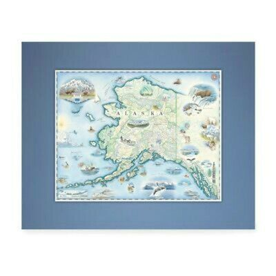 AU37.98 • Buy Xplorer Maps - Mini Map - Alaska - NEW