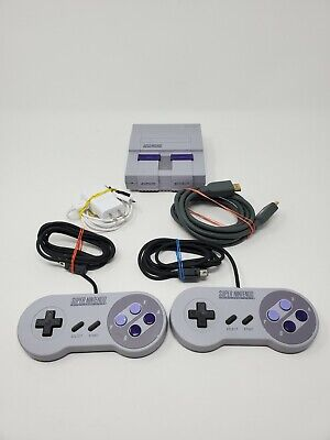 $ CDN145.24 • Buy Super Nintendo SNES Classic Edition Mini Two Controllers Cables Tested And Works