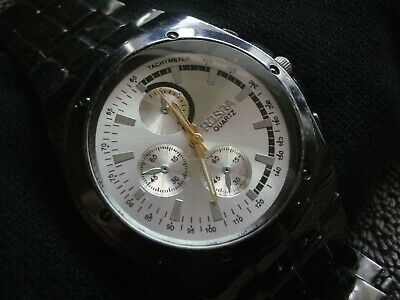 AU24.99 • Buy Men's Rosra Black And Silver Watch
