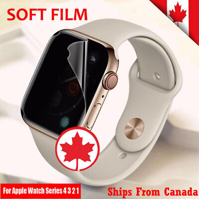 $ CDN3.99 • Buy Premium Screen Protector Hydrogel Film Cover For Apple Watch Series 1 2 3 4 5
