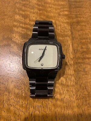 AU202.20 • Buy Nixon 'The Player' All Black Stainless Steel Men's Watch