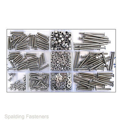 £1.84 • Buy A2 Stainless Steel M3 / 3mm Countersunk Pozi Machine Screws Nuts & Washers