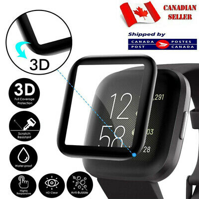 $ CDN3.99 • Buy Tempered Glass LCD Clear Screen Protector For Fitbit Versa 2 / Lite Edition Case