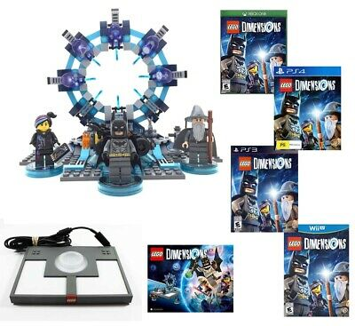 AU25 • Buy LEGO DIMENSIONS Starter Pack Portal Manual Xbox One / 360 , PS3 , PS4 ,Wii U